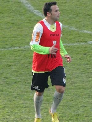 Boiadeiro, lateral do América-MG (Foto: Marco Antônio Astoni / Globoesporte.com)