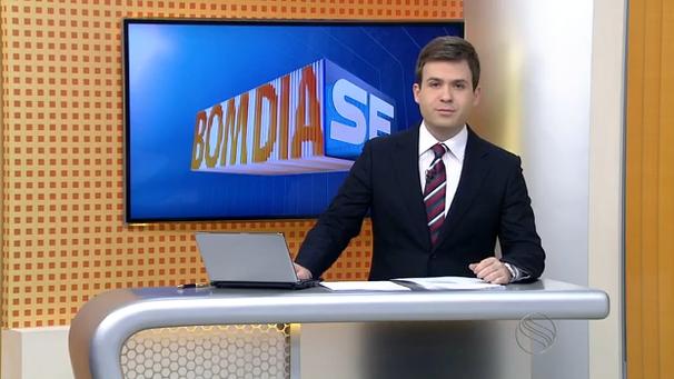 Lyderwan Santos apresenta o Bom Dia Sergipe dessa quinta-feira, 15 (Foto: Divulgação / TV Sergipe)