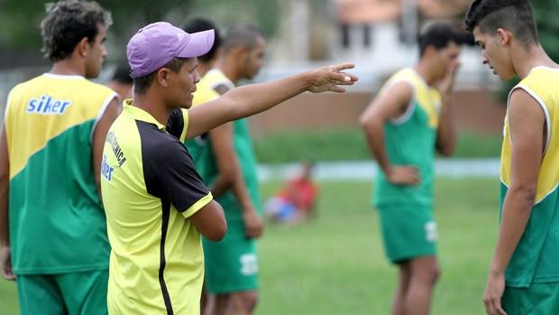 Treino Sport Campina (Foto: Magnus Menezes / Jornal da Paraíba)