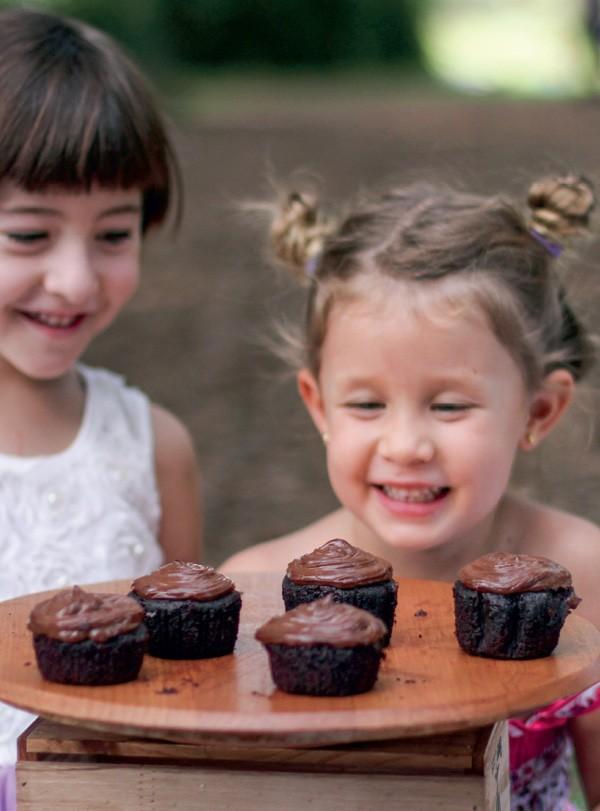 Cupcake de chocolate com especiarias (Foto: Isadora Mira)