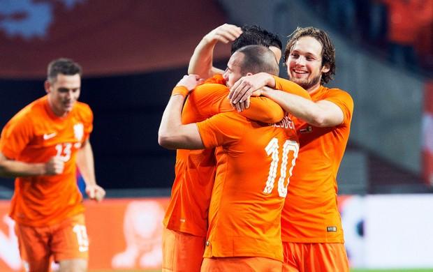 Holanda x México (Foto: Reuters)