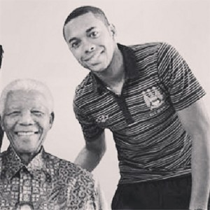 Robinho e Mandela (Foto: Reprodução/Instagram)
