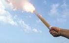 Bombeiros alertam para uso de fogos (Lalo de Almeida/Folhapress)