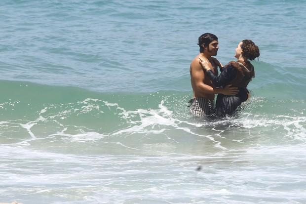 Caio Castro e Leticia Colin (Foto: AgNews  / AgNews)