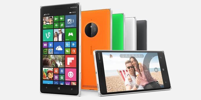 Lumia 830 vem equipado com o Windows Phone 8 Denim (Foto: Divulgação/Microsoft)