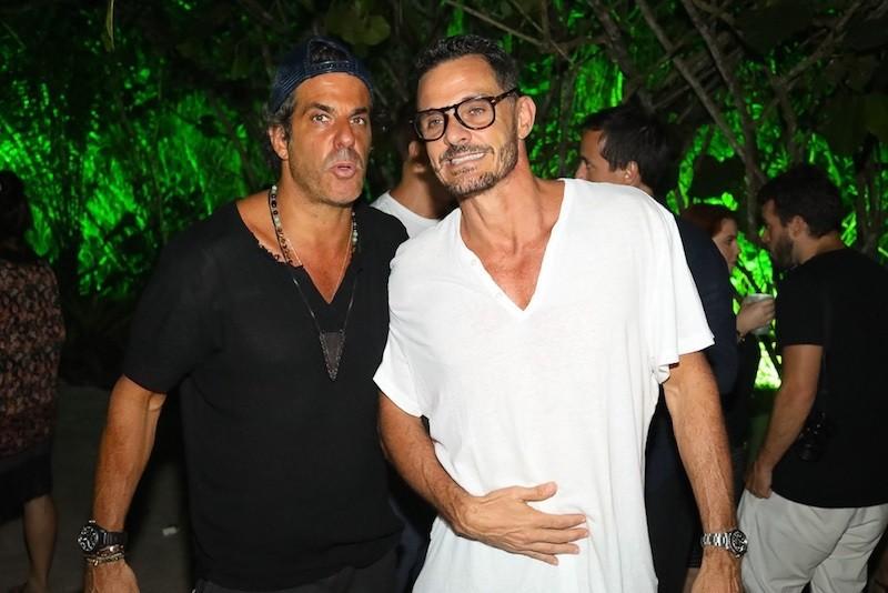 Álvaro e Mario Bernardo Garnero (Foto: André Ligeiro)