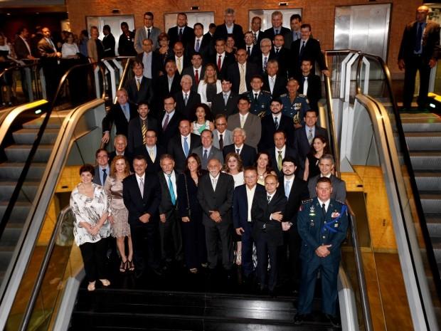 Secretários Estaduais tomam posse para nova gestão no Pará (Foto: Sidney Oliveira/ Agência Pará)
