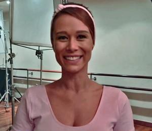Mariana Ximenes começou a dançar balé aos 6 anos  (Foto: TV Globo)