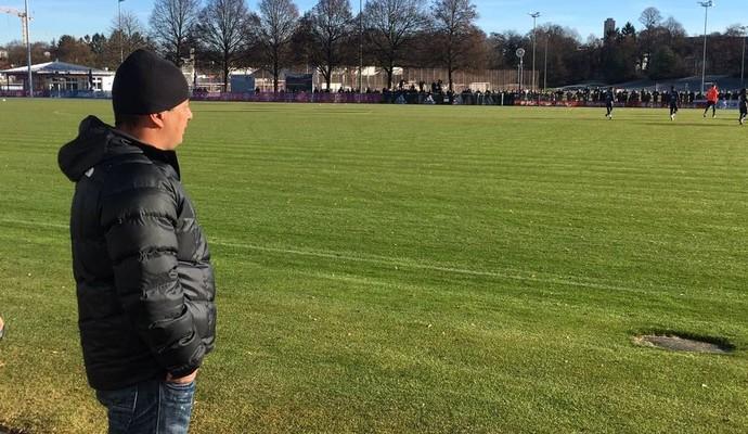 Luis Fernando Goulart preparador físico Ponte Preta visita Bayern de Munique (Foto: Arquivo pessoal)