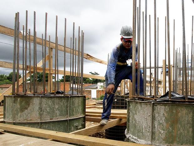 Construção de viaduto da Dom Orlando Chaves (Foto: Edson Rodrigues/Secopa-MT)