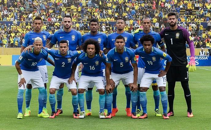 Brasil x Equador (Foto: Pedro Martins / MoWA Press)