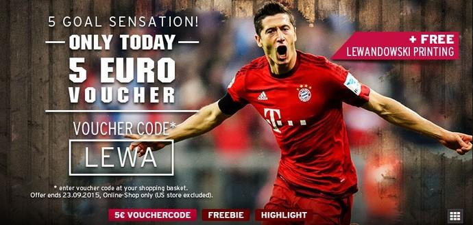 Voucher promoção desconto Lewandowski (Foto: Reprodução internet)