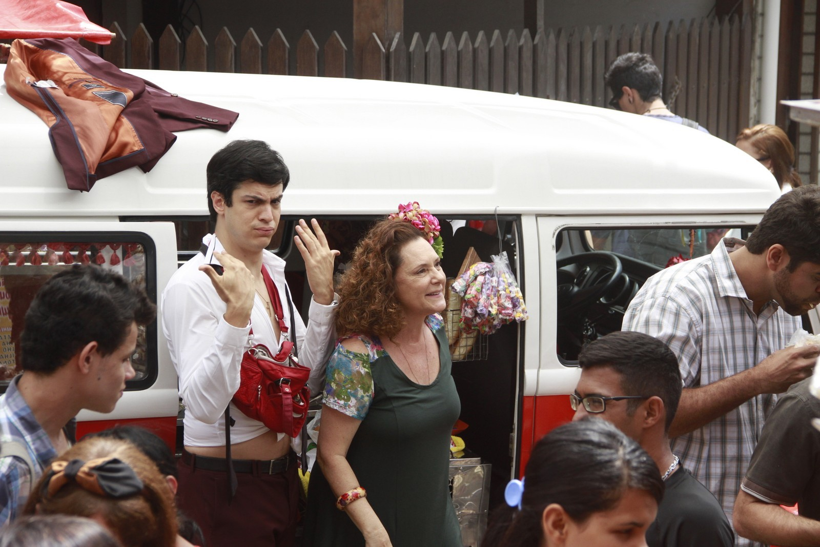 Mateus Solano e Elizabeth Savalla (Foto: Dilson Silva/Agnews)