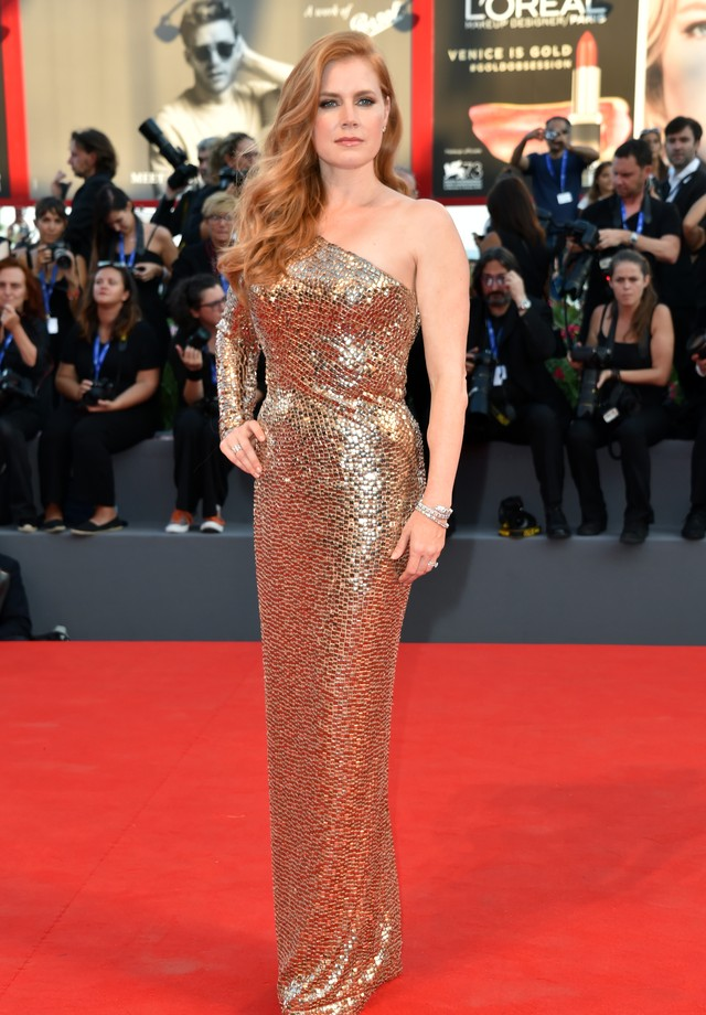 Amy Adams, belíssima de Tom Ford (Foto: Getty Images)