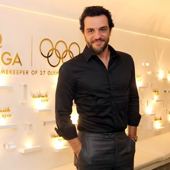 O ator Rodrigo Lombardi durante festa  gold Night na casa Omega em Ipanema, Zona Sul do Rio (Foto: Daniel Pinheiro/Agnews)