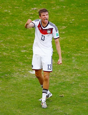 Thomas Muller alemanha x portugal (Foto: Getty Images)