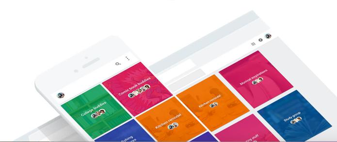 Spaces funciona no Chrome, Gmail, Android e iOS (iPhone) (Foto: Divulgação/Google)