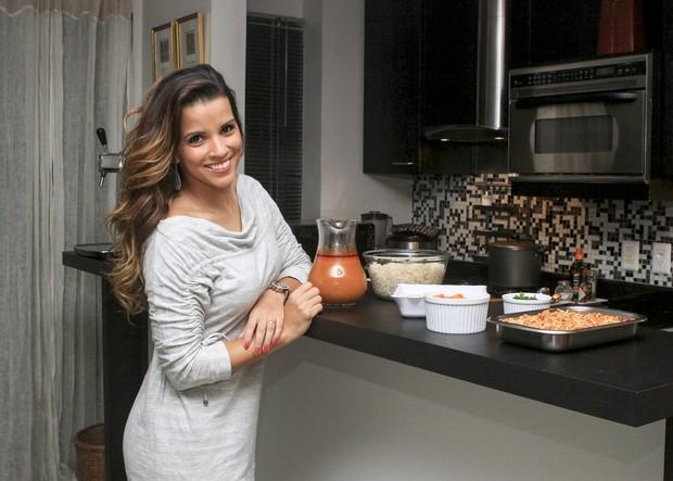 Renata Santos (Foto: Anderson Barros / Ego)