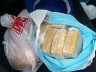 Motorista é preso no DF com 7 kg de cocaína enrolado em fraldas de bebê