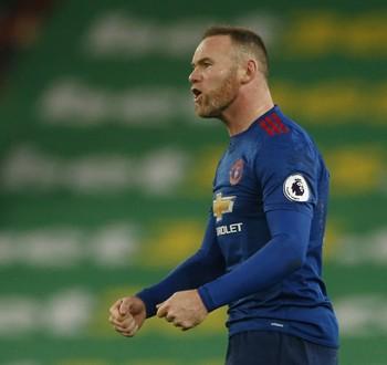 Wayne Rooney Stoke City Manchester United (Foto: Reuters)