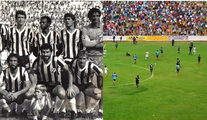 Inter de Limeira Campeã 1986 e Barretos Acesso 2014 (Foto: Arte/GloboEsporte.com)