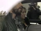 Shakira e Gerard Piqué deixam maternidade em Barcelona