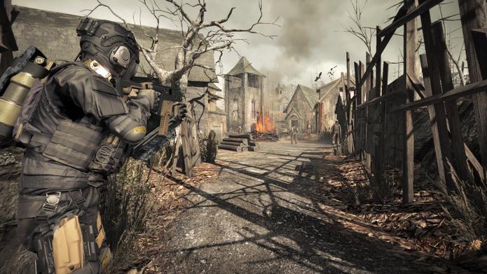 Umbrella Corps: famosa vila de Resident Evil 4 será um dos mapas do jogo (Foto: Divulgação/Capcom)