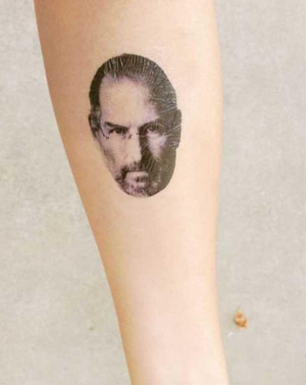 Rosto de Steve Jobs (Foto: Reprodução/The Chive)
