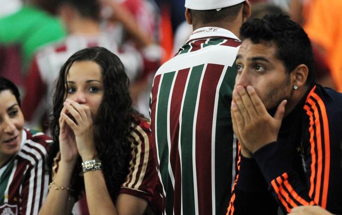 Torcida Fluminense choro (Foto: André Durão / Globoesporte.com)