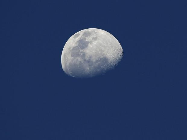 Frequência de impactos na lua era maior do que o esperado (Foto: Juan MABROMATA / AFP)