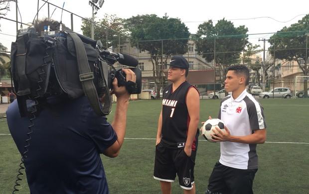 Paulinho e Romário