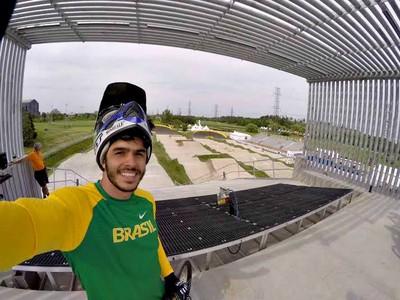 Renato Rezende no Pan de Toronto (Foto: Reprodução/Facebook)