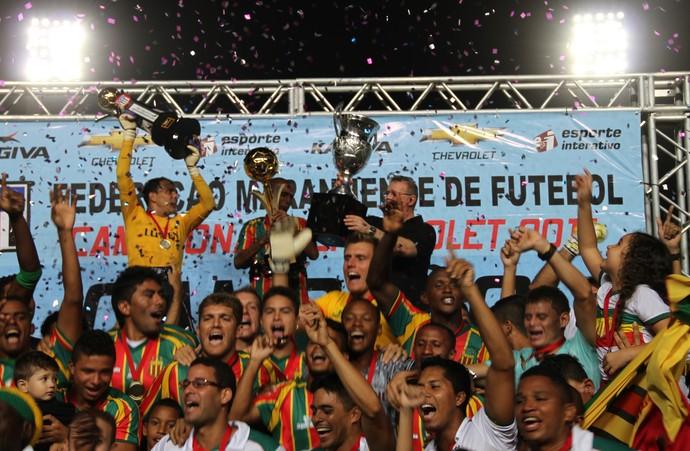 Sampaio campeão maranhense (Foto: Biaman Prado/O Estado)