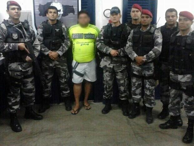 Polícia Federal prendeu em Pernambuco o último suspeito da Operação Cinzas (Foto: Divulgação/2ºBPM)