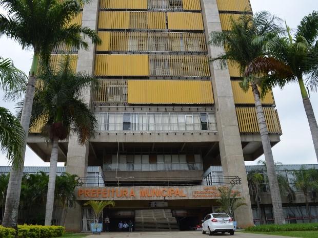 Centro Cívico, sede da Prefeitura de Piracicaba (Foto: Luiz Felipe Leite/G1)