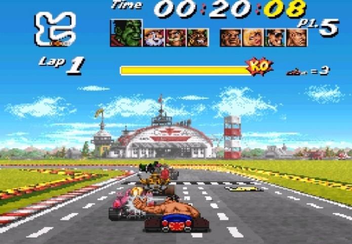 Melhores jogos de corridas do SNES: Street Racer (Foto: Reprodução/nintendolife.com)