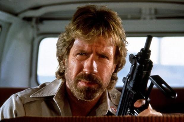 Chuck Norris, em Delta Force (Foto: Reprodução)