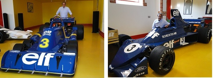 Carros de Scheckter