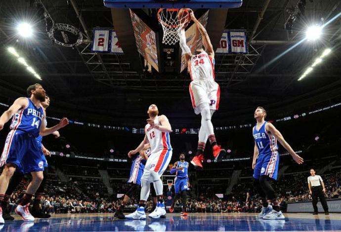 Detroit Pistons x Philadelphia 76ers NBA (Foto: Divulgação/Detroit Pistons)