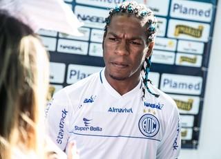 Geraldo prega reabilitação contra o Vitória (Foto: Fillipe Araújo/FSF)