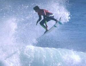 Gabriel Medina surfe Santa Cruz (Foto: Reprodução)