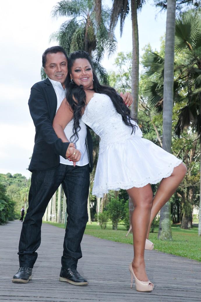 Elis Nair diz que o marido percebeu que ela estava mais magra pela cintura (Foto: Divulgação/Johnny Keppk)