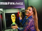 Gaby Amarantos conta que faz mandinga na hora de torcer no futebol