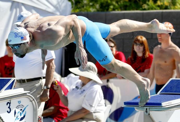 Michael Phelps GP de Mesa  (Foto: Matt York / AP Photo)