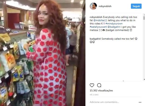 Rihanna se pronuncia sobre críticas ao seu corpo (Foto: Reprodução/Instagram)