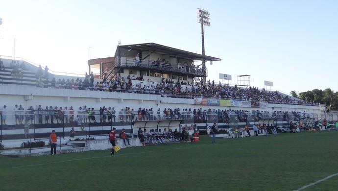 Estádio Coaracy da Mata Fonseca, em Arapiraca (Foto: Leonardo Freire)