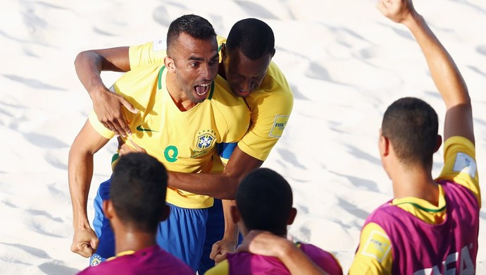 Brasil x Taiti Copa do Mundo de futebol de areia (Foto: Getty Images/Fifa)