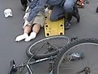 Ciclistas alertam para segurança no trânsito (Reprodução/ TV Integração)
