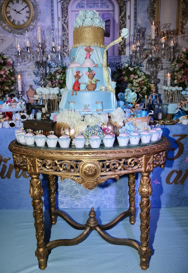 Decoração da festinha de Valentina (Foto: Manuela Scarpa/Brazil News)