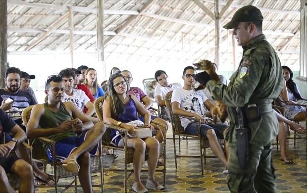Curso de multiplicadores ambientais é realizado em Guajará-Mirim (Foto: Bom Dia Amazônia)